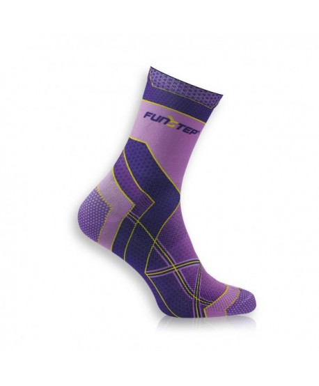 Medium mauve / purple running socks