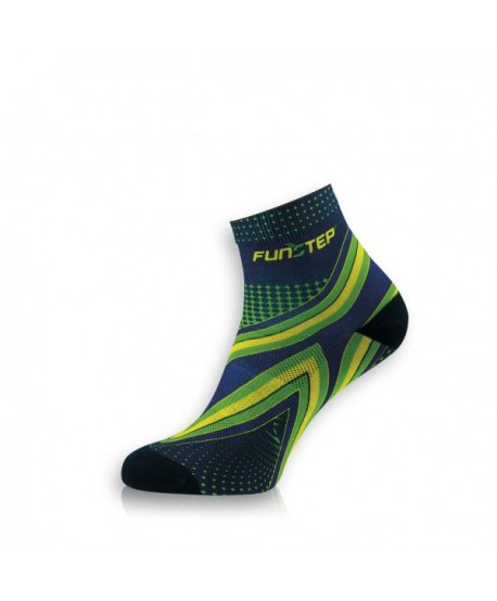 Short marine / green running socks