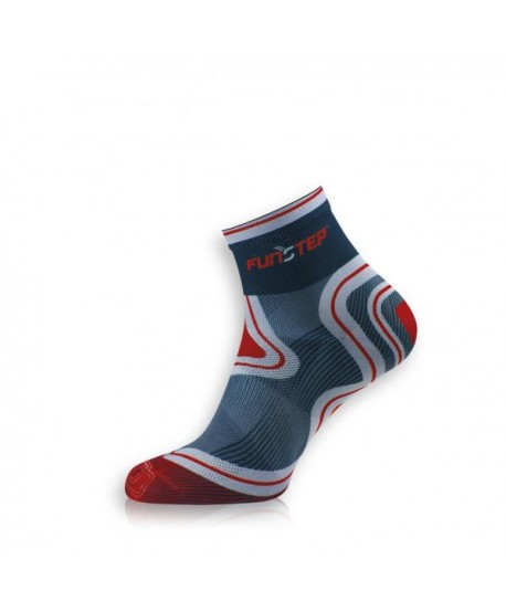 Short  black / red trekking socks