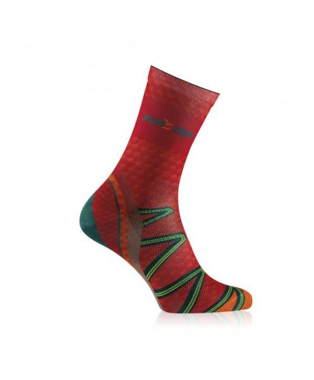 Medium red / orange trekking socks