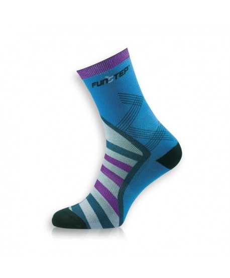 Medium blue / purple trekking socks