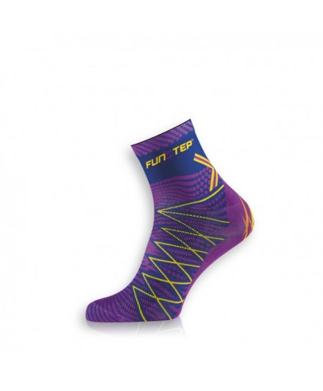 Short purple / mauve trekking socks