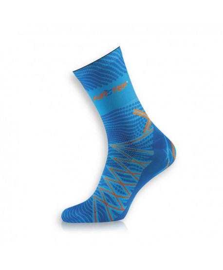 Medium Light Blue / Dark Blue Trekking Socks