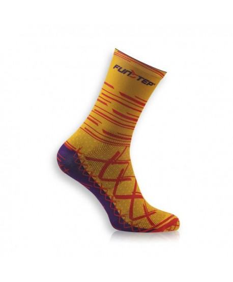 Medium Orange / Red Cycling Socks