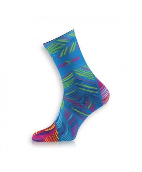 Creative blue / green socks