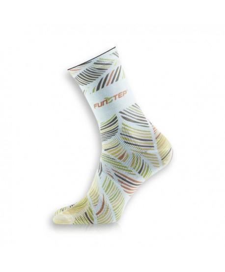 Creative Orange / Green Socks