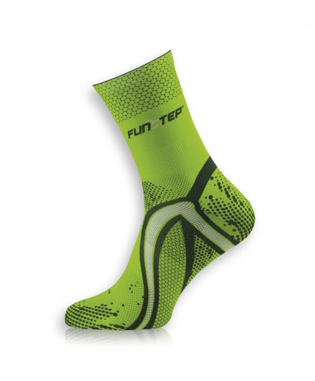 copy of Short green / gray running socks
