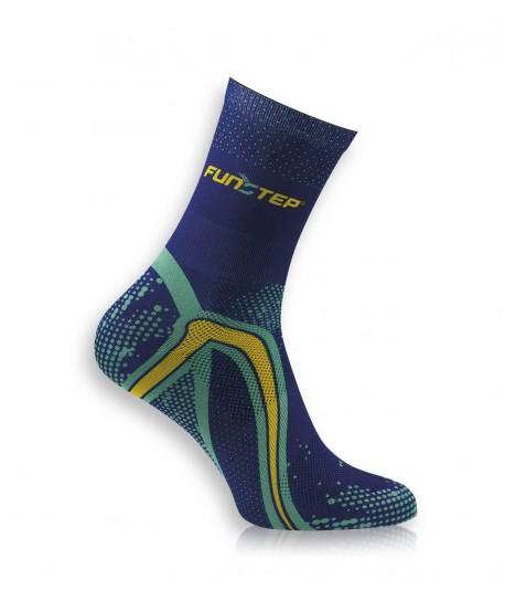 copy of Short marine / green running socks