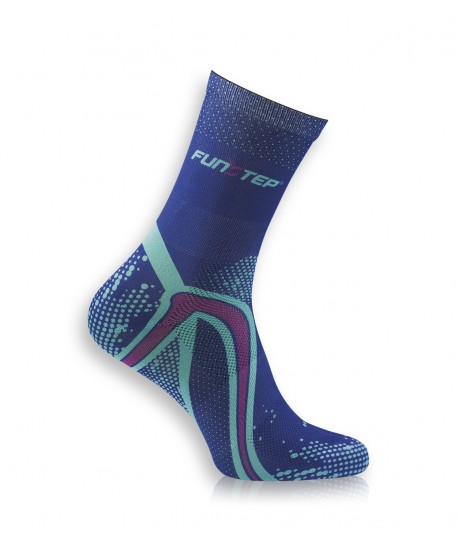 copy of Short blue / purple running socks