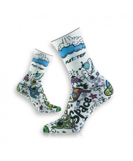 copy of Funny socks white / blue