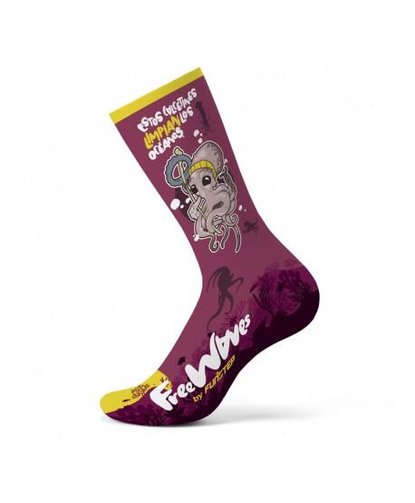 Calcetines divertidos Pulpo