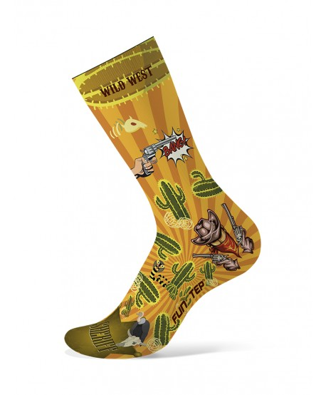 copy of Funny yellow / green socks