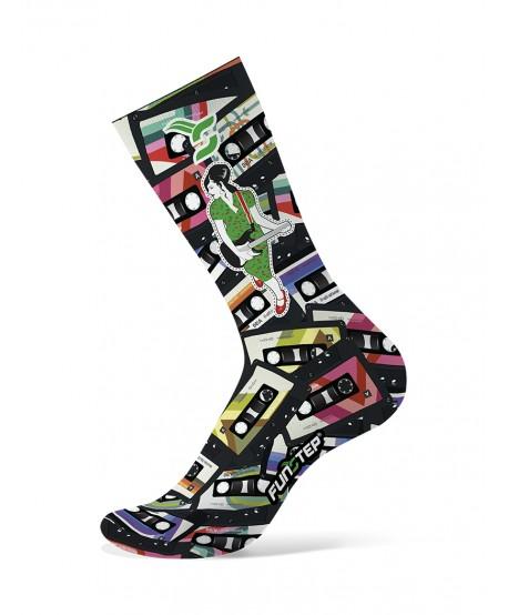Calcetines ciclismo originales multicolor